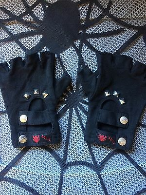 Tripp NYC Gothic Fingerless Gloves