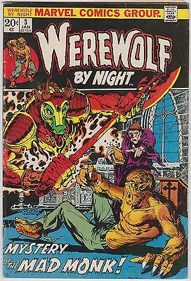 Werewolf by Night #3, Marvel Comics