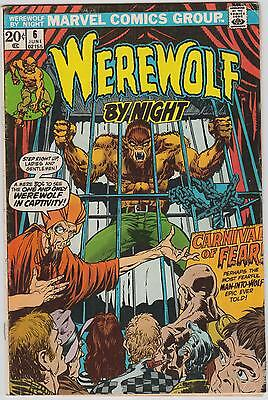 Werewolf by Night #6, Marvel Comics