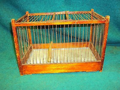 Early 1900s Coal Miners Canary Bird Cage