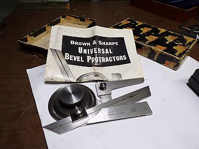 B&S Model 496 Universal Bevel Protractor