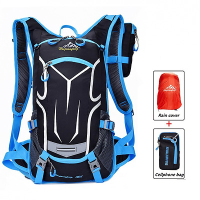 18L Waterproof Bag, Cycling Backpack Lightweight Outdoor Sports MTB Riding Backp