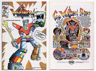 Voltron (1985 Modern) #1 (Nm+) 1St Comic Appearance 1St Print Defender Universe