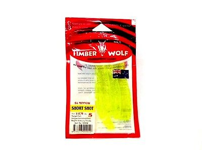 Timber Wolf Short Shot - Yellow Sparkle