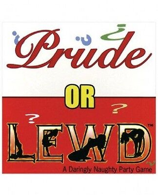 PRUDE OR LEWD CARD GAME - Adult Drinking Naughty Game