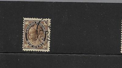 pk30008:Stamps-Canada #71 Queen Victoria Maple Leaf 6 Cent Issue - Used