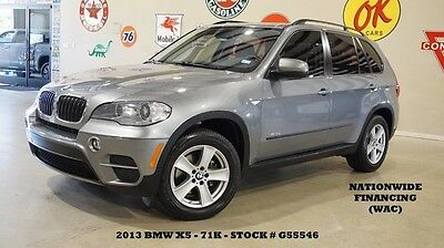 2013 BMW X5 xDrive35i Sport Utility 4-Door 13 X5 XDRIVE 35I,PANORAMIC ROOF,NAVIGATION,HTD LTH,B/T,18IN WHLS,71K,WE FINANCE!