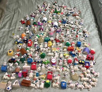 189 Total McDonald's 101 Dalmations Happy Meal Disney Movie Puppy Dog Lot Toy