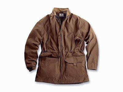 Beretta Nwt Men's Anorak Brown Waxed Cotton Hooded Coolmax Lining Jacket Sz 2Xl