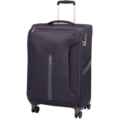American Tourister Airliner Medium 71cm Softside Suitcase Purple 79384