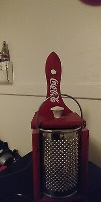 Coca Cola Cheese Grater Wall Decoration