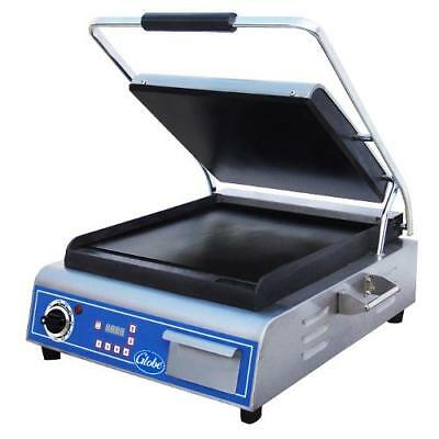 Globe - GSG14D - Single Panini Grill with Smooth Plates