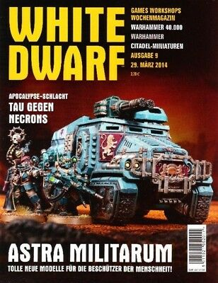 White Dwarf 9 March 2014 (German) by the 29 March 2014 Games Workshop