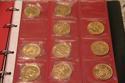 Egypt Gold Coin - Collection of 36 gold coins
