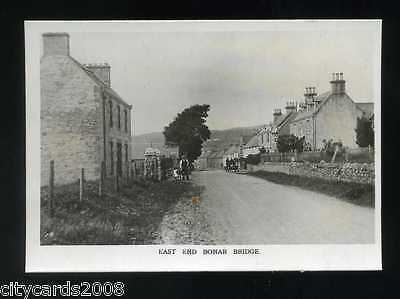 BONAR BRIDGE   Scotland   East End  view of village   RP   - COURT CARD