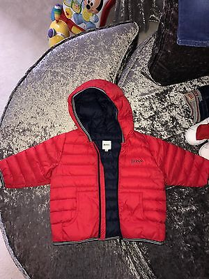 Baby Boss Jacket Red Size 12months Great Condition!