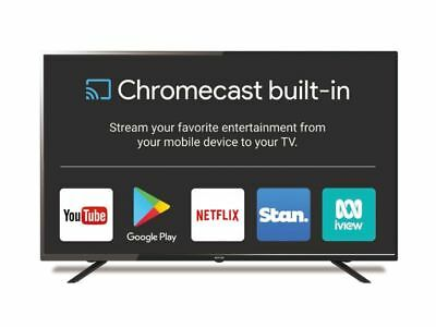 "SONIQ 55"" UHD Google Chromecast Built-in TV (BRAND NEW) N55UX17B-AU"