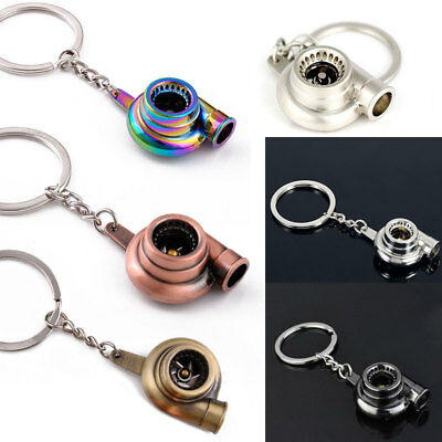 Neochrome LED Turbo Keychain Colorful with BOV Sound Spins Men Keyring Car Gift