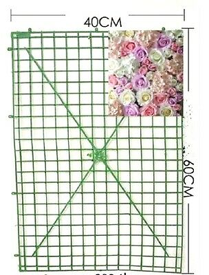 Artificial FLOWER WALL Plastic Panels For D.I.Y Wedding Decoration Backdrop NEW