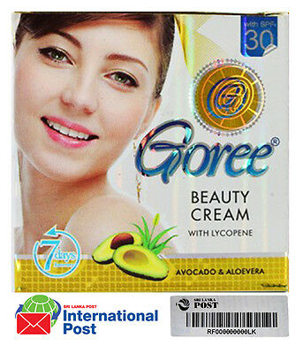 AUTHENTIC GOREE WHITENING BEAUTY CREAM 100% Original + Free Shipping,EXP 2020