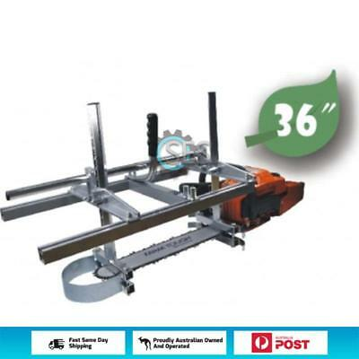 36 Inch Holzfforma Portable Chainsaw Mill Planking Milling From 14'' to 36'' ...