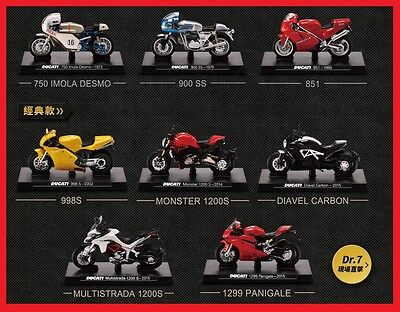 DUCATI Superbike Official Licensed Product 1/24 Diecast Motorcycle Model Vehicle