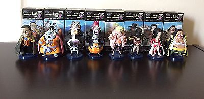 ONE PIECE WCF World vol.4 Collectible Figure Complete set Authentic Toei Vol 4