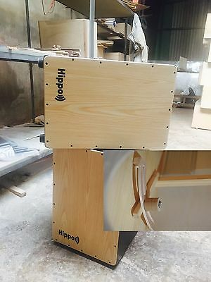 Cajon HIPPO HCP Frontplate Maple/Rosewood With Padded Seat Cushion And Carry Bag