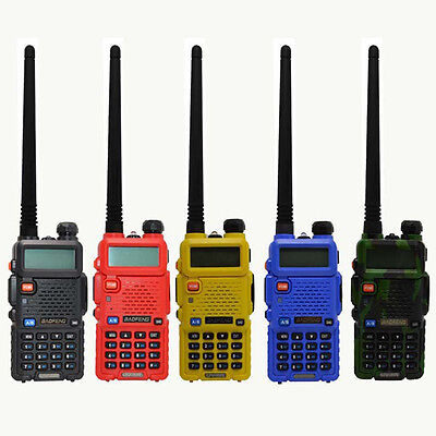 BaoFeng UV-5R 136-174/400-520MHz Dual Band FM Ham Two Way Radio Walkie Talkie