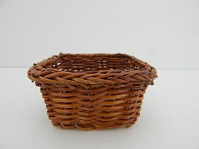 Wicker Basket Great Accessory for Byers Choice or Doll Display Scene 132