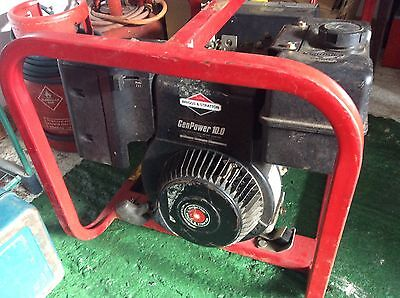 briggs and stratton heavy duty generator charger and welder  in frame 10hp
