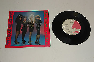 "THE CRAMPS ALL WOMEN ARE BAD 1990 ENIGMA UK 7"" 1st PRESS, P/S"