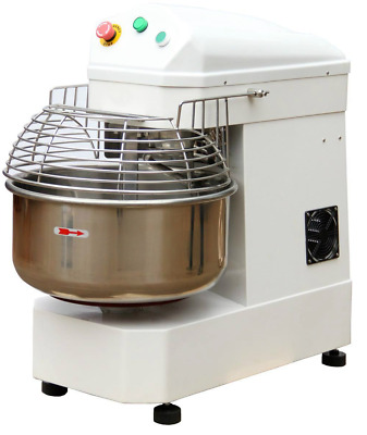 Commercial Spiral Dough Mixer 23 Litre Dough Kneader Cake Bakery Equipment