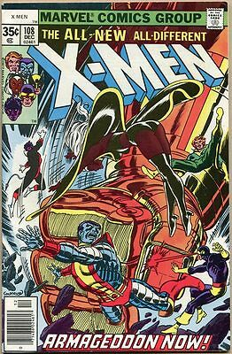Uncanny X-Men #108 - VF- - 1st John Byrne Art On X-Men