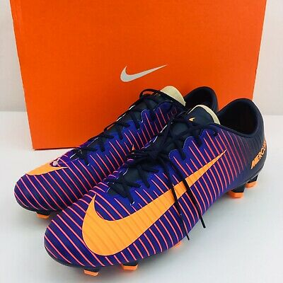 2a04d79e340 NIKE MERCURIAL VELOCE III FG (Purple) 847756-585 Men s Size 11 SOCCER CLEATS