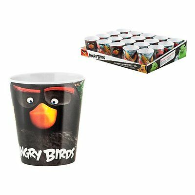 Home Bicchiere Cc 190 Angry Birds 0586668 Bicchiere Cc 190 Melamina Angry Birds