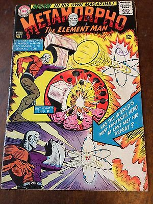METAMORPHO The Element Man 1 1965 VG