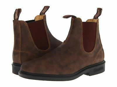 Blundstone Women's RUSTIC BROWN LEATHER DRESS CHELSEA  Boots 1306