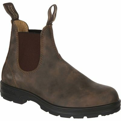 Blundstone Women's RUSTIC BROWN PREMIUM LEATHER CASUAL CHELSEA Boots 585