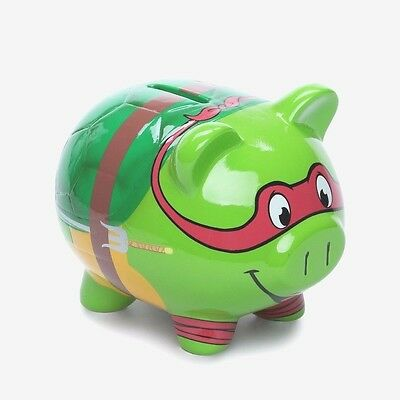 Teenage Mutant Ninja Turtles Raphael Ceramic Piggy Bank *BRAND NEW*