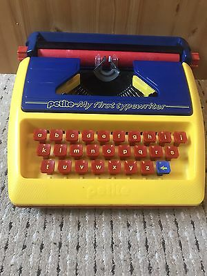 Petite Portable Child's My First Typewriter Vintage