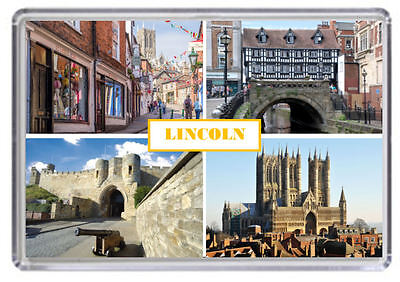 Lincoln Fridge Magnet 01