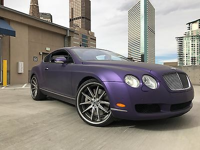 2005 Bentley Continental GT  Wrapped 2005 Bentley Continental GT Coupe V12 AWD