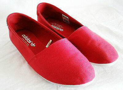 Adidas Adidrill Dock Slip On Women's Casual Shoes Red D67859 Size 8.5
