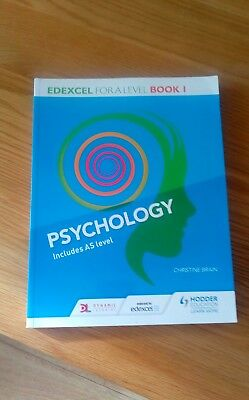 psychology for A level includes As level (edexcel) book1