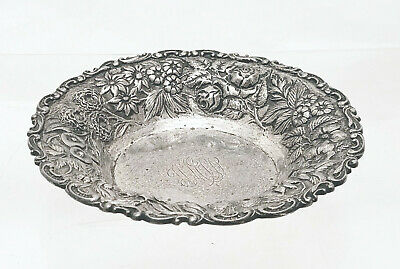 Sterling Nut / Candy Dish in Repousse by A. Jacobi & Co.