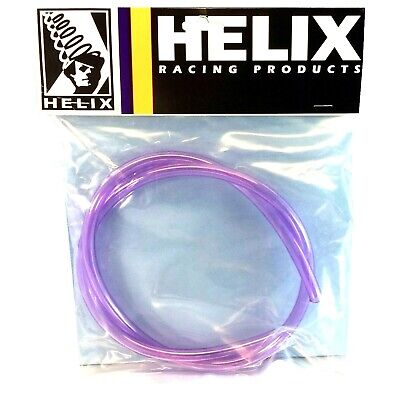 "New Helix Purple Fuel Line Id 1/4"" Pre-Cut 3 Ft Polaris Honda Kawasaki Yamaha"