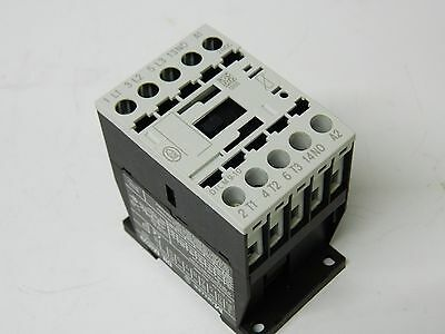 Moeller DIL M9-10 3 Polo 7.5KW Contactor Aux 1X N/O 24vdc Coil