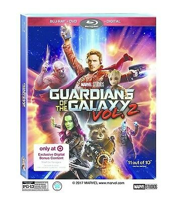 Marvel Guardians Of The Galaxy Vol.2(Blu-Ray+Dvd+Digital Hd) Target Exclusive
