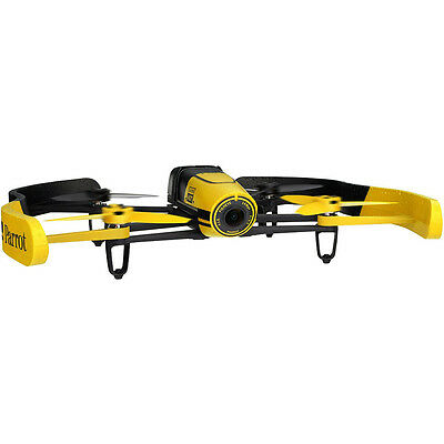 Parrot BeBop Drone 14 MP Full HD 1080p Fisheye Camera Quadcopter (Yellow)